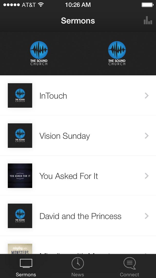 The Sound Church App screenshot 1