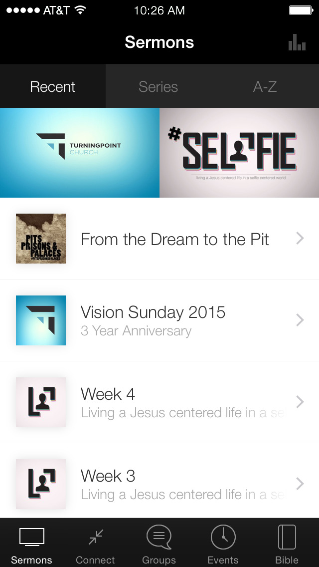 TurningPoint Church App screenshot 1