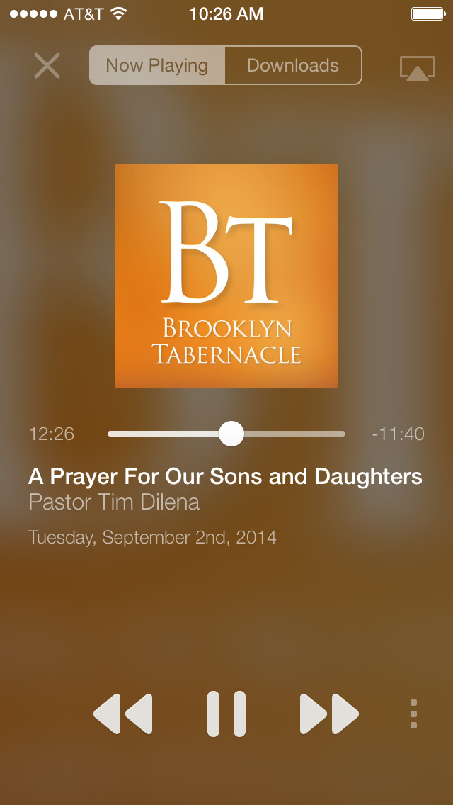 The Brooklyn Tabernacle App screenshot 2