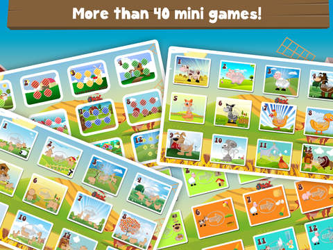 Milo's Free Mini Games for a wippersnapper - Barn and Farm Animals Cartoon screenshot 8