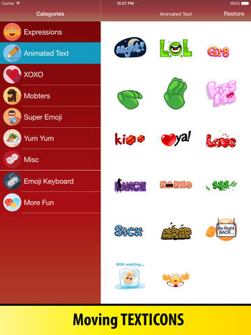 Animated Emoji Keyboard - Emoticons for iPhone & iPad screenshot 8