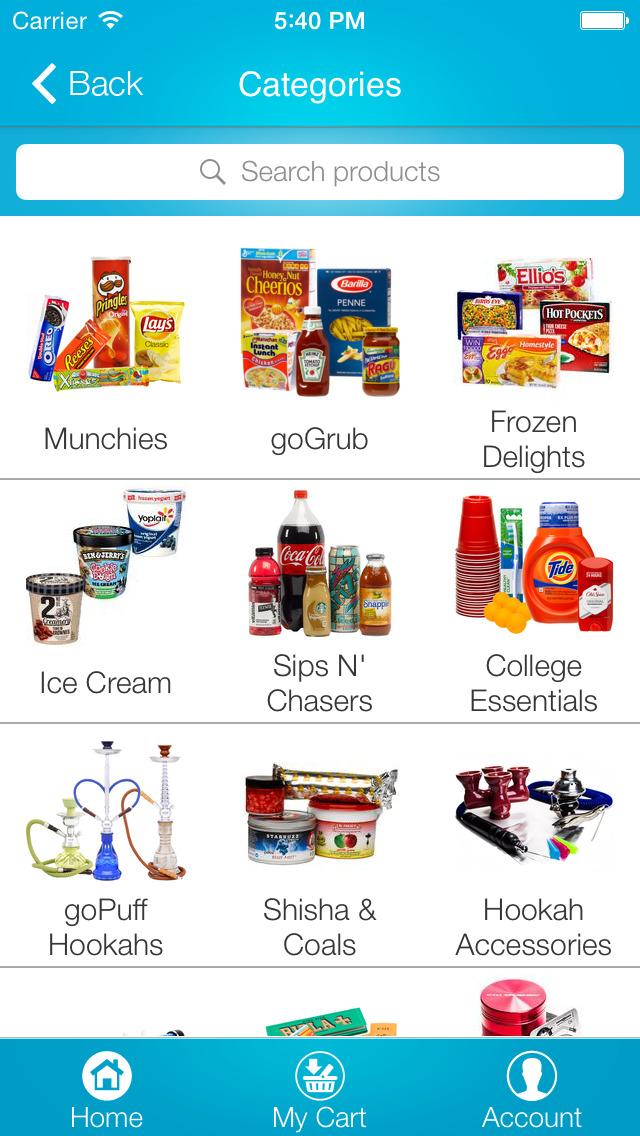 goPuff: Drink & Food Delivery screenshot 2