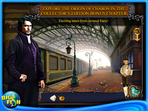Haunted Train: Spirits of Charon HD - A Hidden Object Game with Ghosts screenshot 4