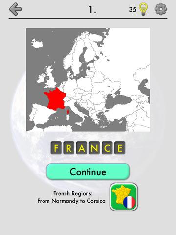 Maps of All Countries Geo-Quiz screenshot 6