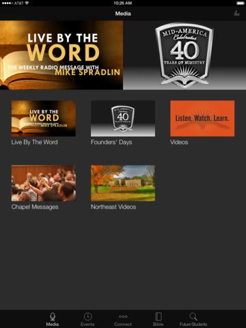 Mid-America Baptist Seminary screenshot 4