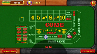 `7-11 - Las Vegas Casino Craps Dice Free screenshot 1