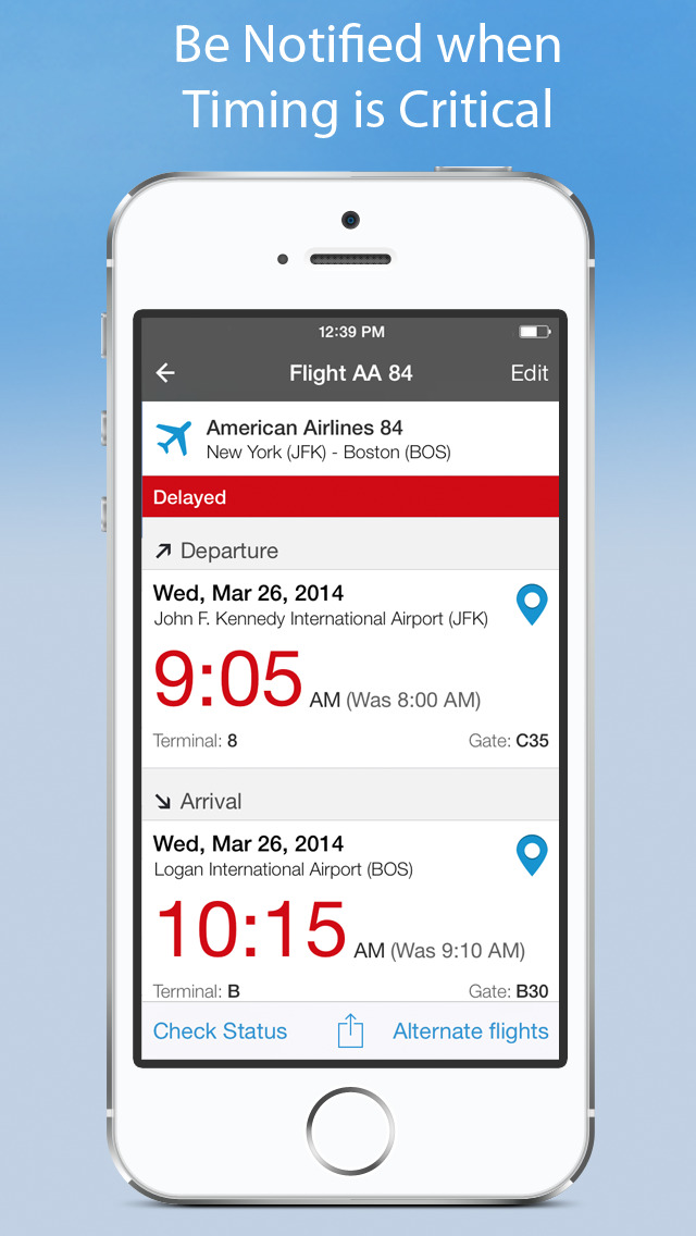 WorldMate Travel Plans & Flight Tracker screenshot 4