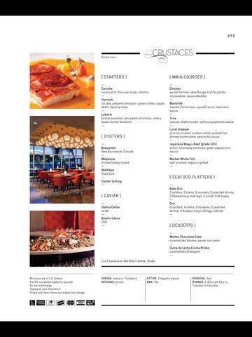 Menu International - Restaurant Guide - Aruba screenshot 10
