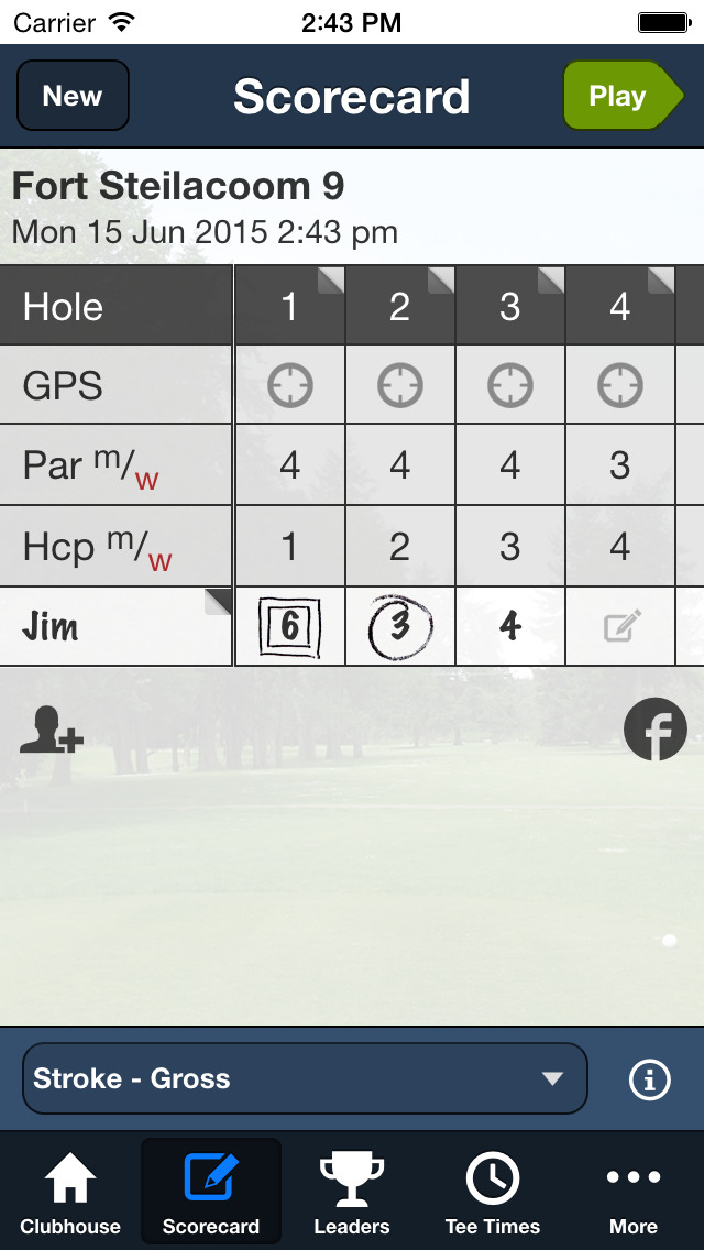 Fort Steilacoom GC screenshot 3