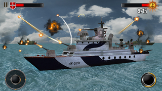 Sea Battleship Combat 3D screenshot 2