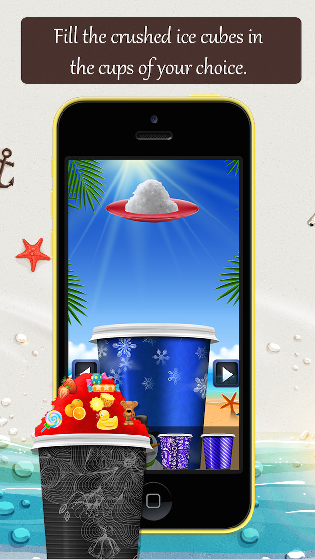 Snow Cone Machine Lite screenshot 3
