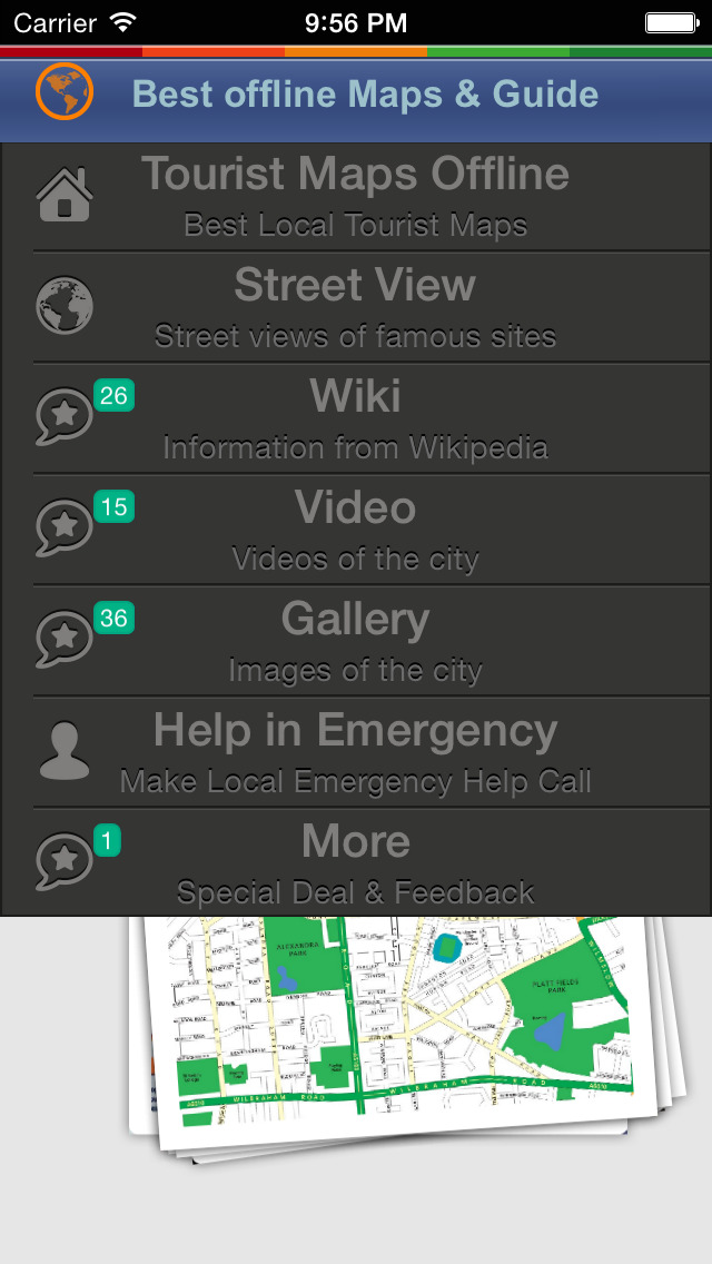 Manchester Tour Guide: Best Offline Maps with Street View and Emergency Help Info screenshot 2