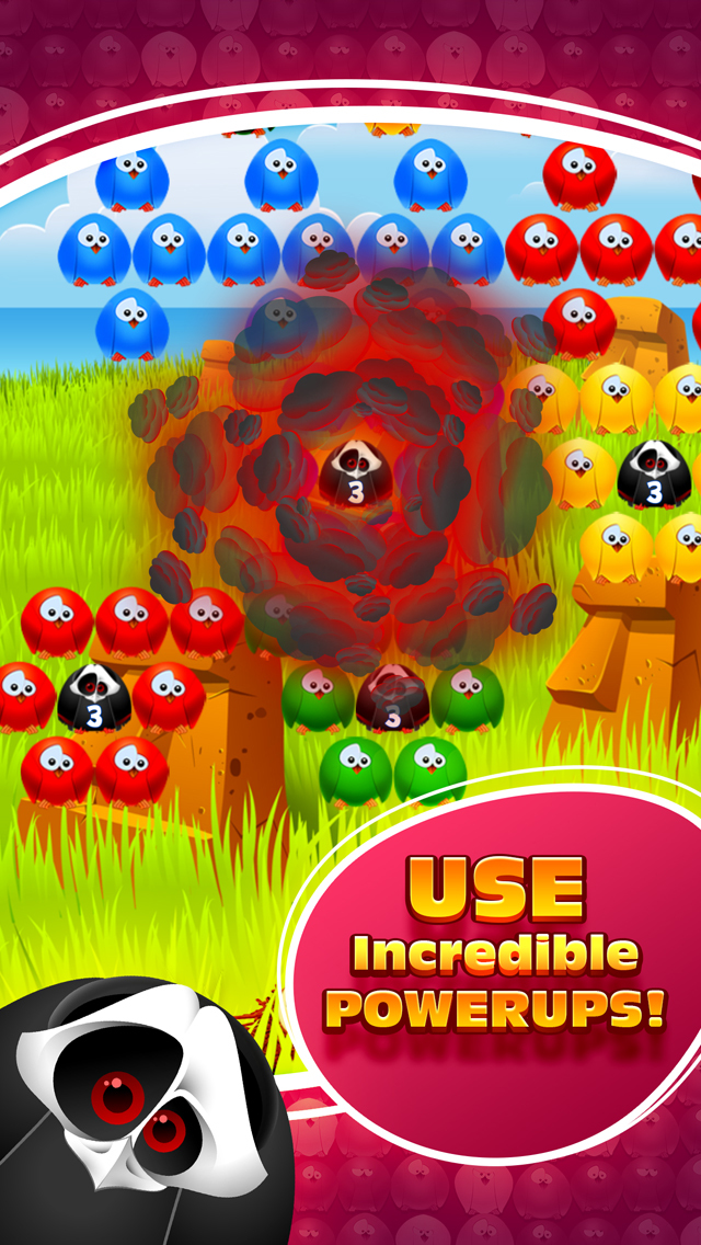 Bubble Birds 3 - Match 3 Puzzle Shooter Game screenshot 3