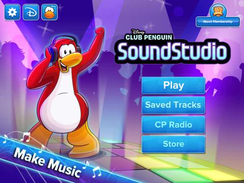 Club Penguin SoundStudio screenshot 6