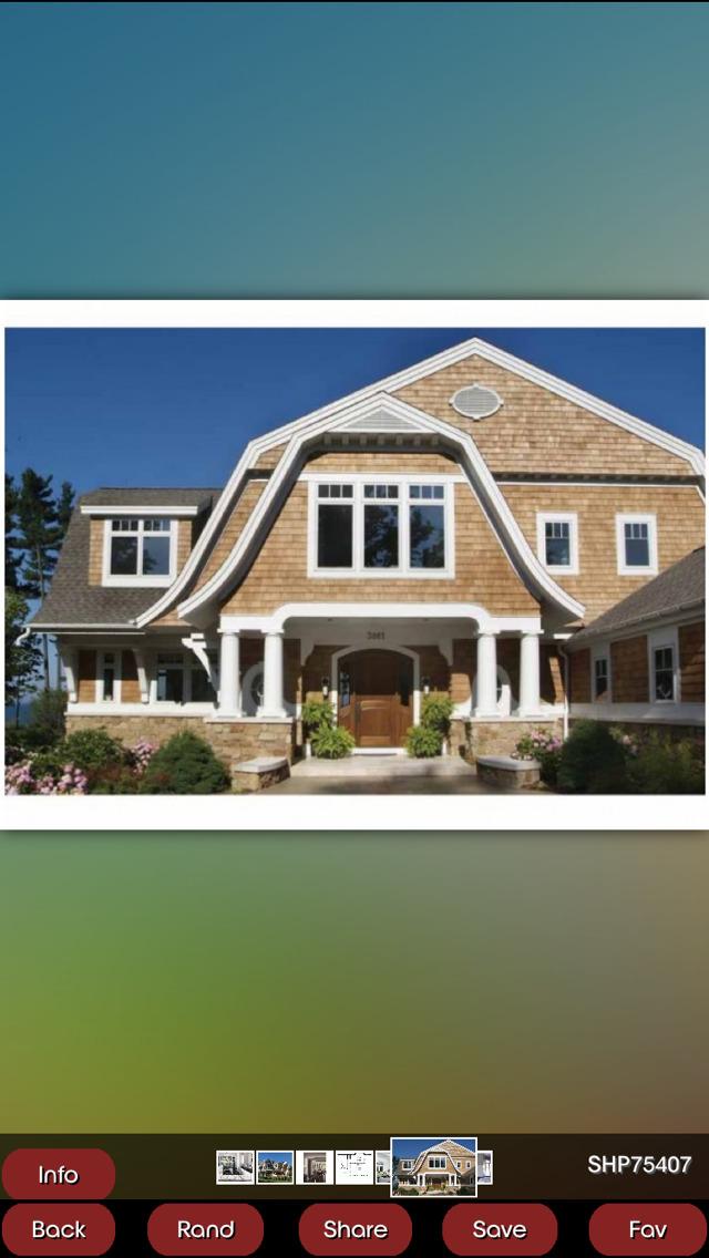 Shingle House Plans screenshot 2