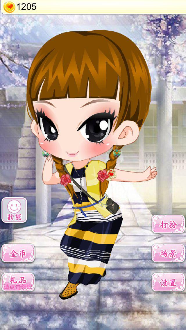 美少女换装-女生换装养成游戏 screenshot 2