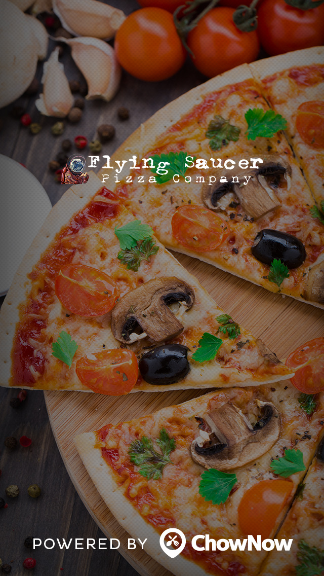 Flying Saucer Pizza Company screenshot 1