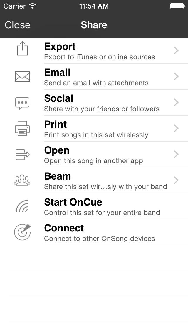 OnSong screenshot 5