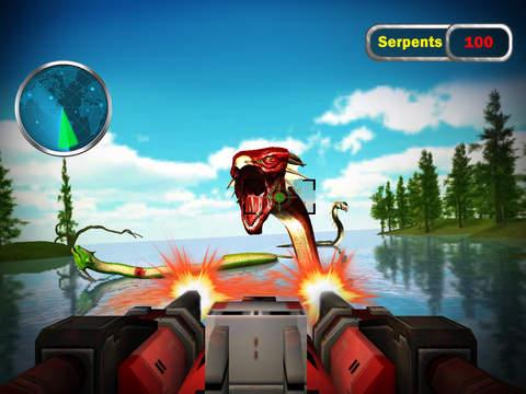 Monster Snake Shooting 3D screenshot 7