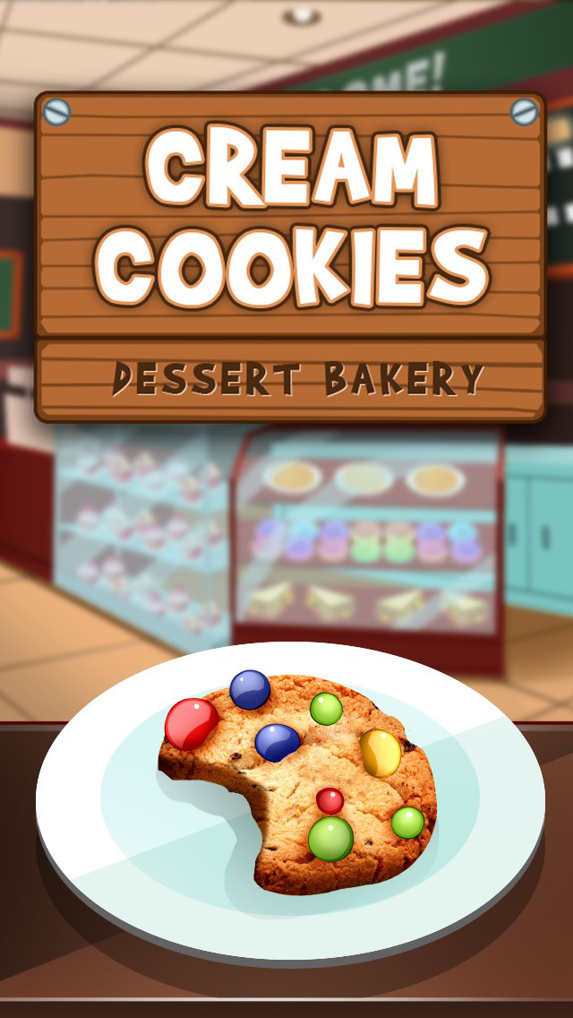Awesome Cream Cookies Dessert Bakery screenshot 1