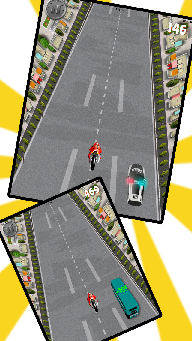 Wild Bike Race Night screenshot 5