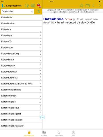 Technik und angewandte Wissenschaften Schmitt Englisch<->Deutsch Fachwörterbuch Professional screenshot 10
