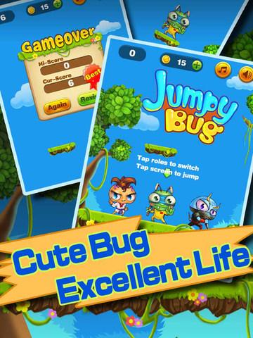 Jumpy Bug screenshot 4