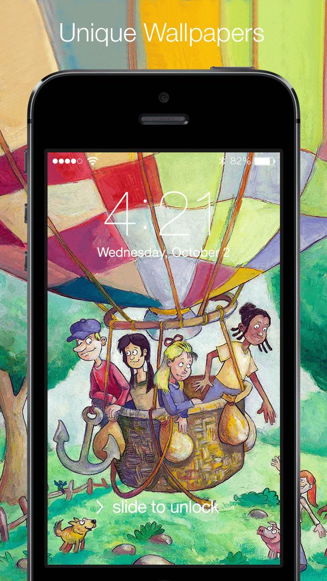 Illustration Wallpapers & Illustration Design screenshot 1
