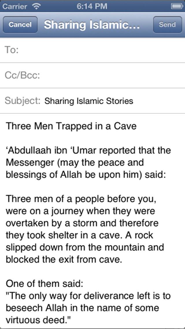 iPrayer Book - Islamic Stories Collection screenshot 4