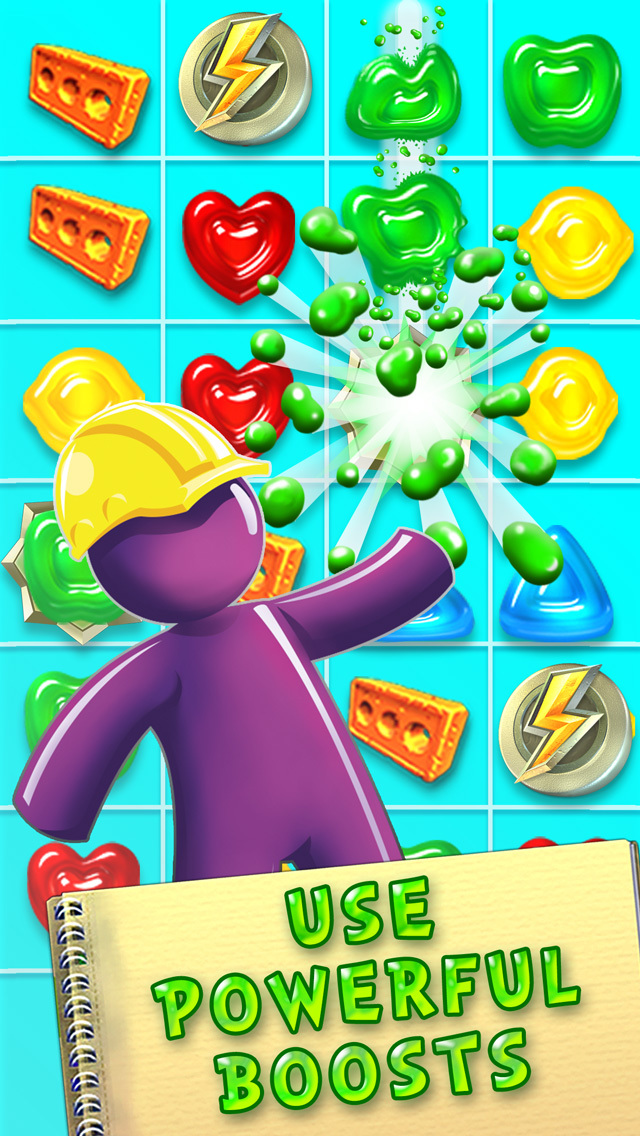 Gummy Drop! – A Match 3 Game screenshot 3