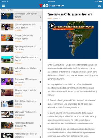 Telemundo 40 screenshot 9
