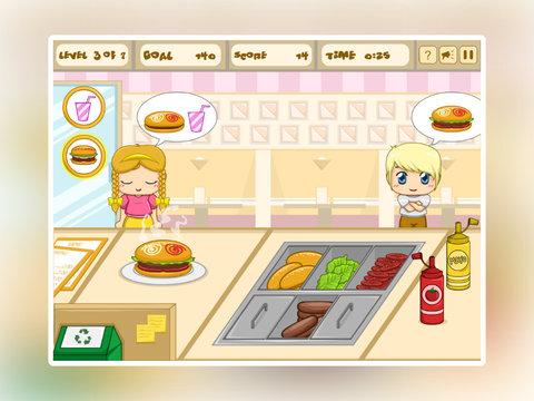 Burger Shop Frenzy screenshot 9