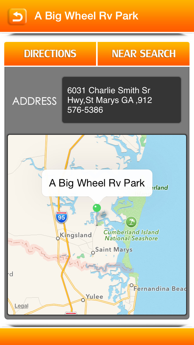 Campgrounds & RV Parks screenshot 3