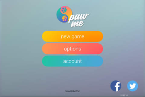 Free Game for Cats Paw Me - náhled