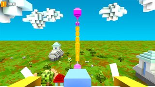 Blocky Plane Gold screenshot 4