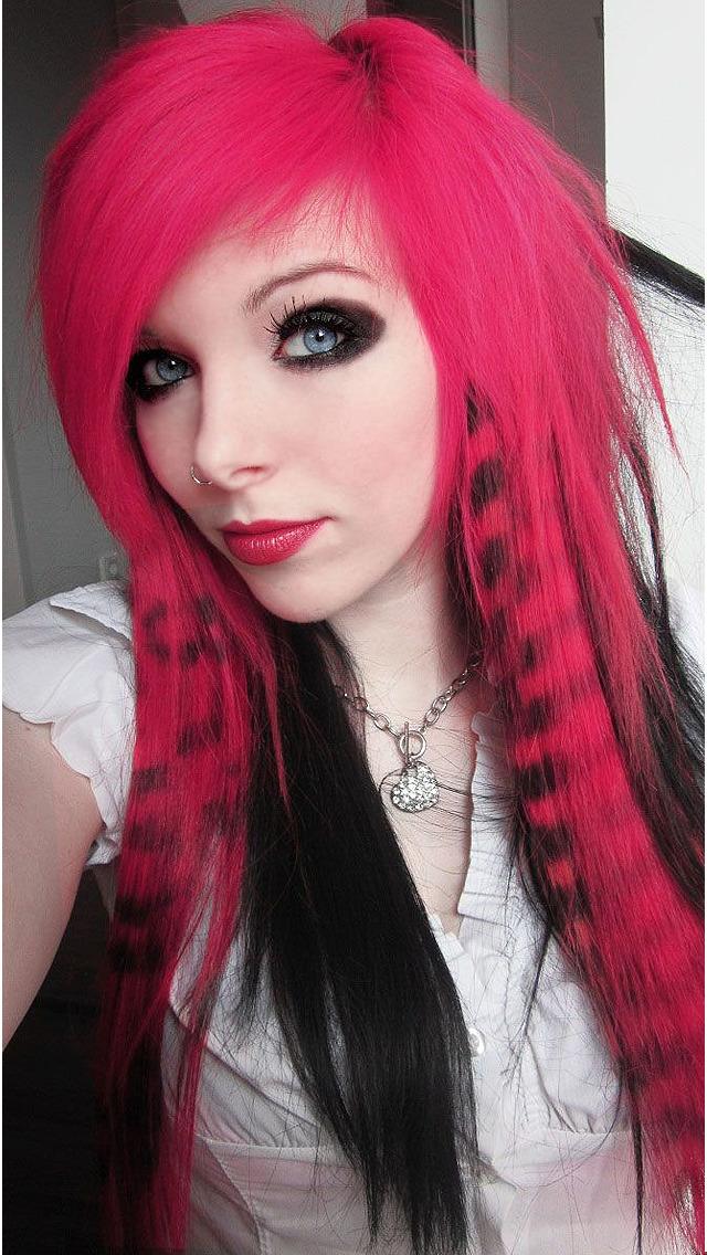 Emo Hair Art Designs, Men & Women Hairstyles Pics screenshot 4