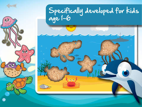 Free Sealife Cartoon Jigsaw Puzzle screenshot 6