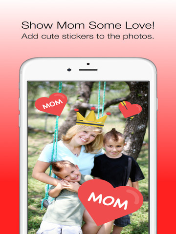 Mother's Day Photo Stickers - with Facebook & Instagram Sharing screenshot 3