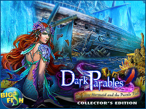 Dark Parables: The Little Mermaid and the Purple Tide Collector's Edition HD screenshot 5