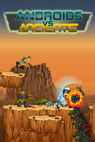 Androids vs Ancients – Robot Soldiers Fighting Anc - náhled