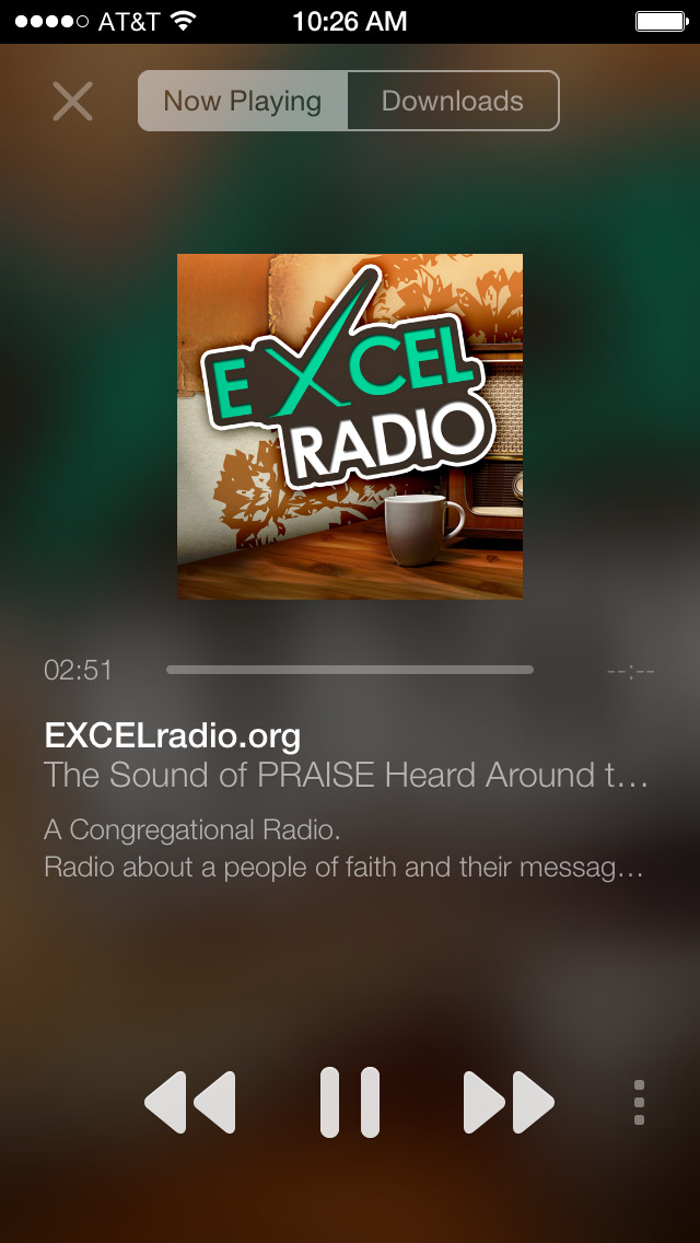 EXCELradio screenshot 2