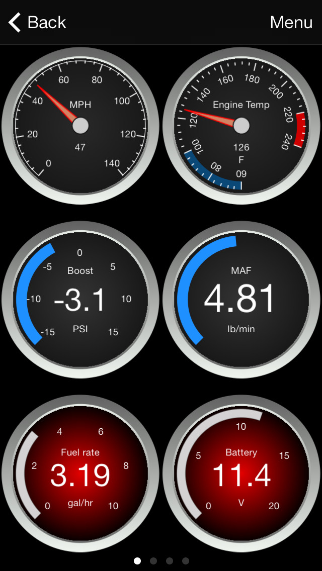 OBD Fusion screenshot 1