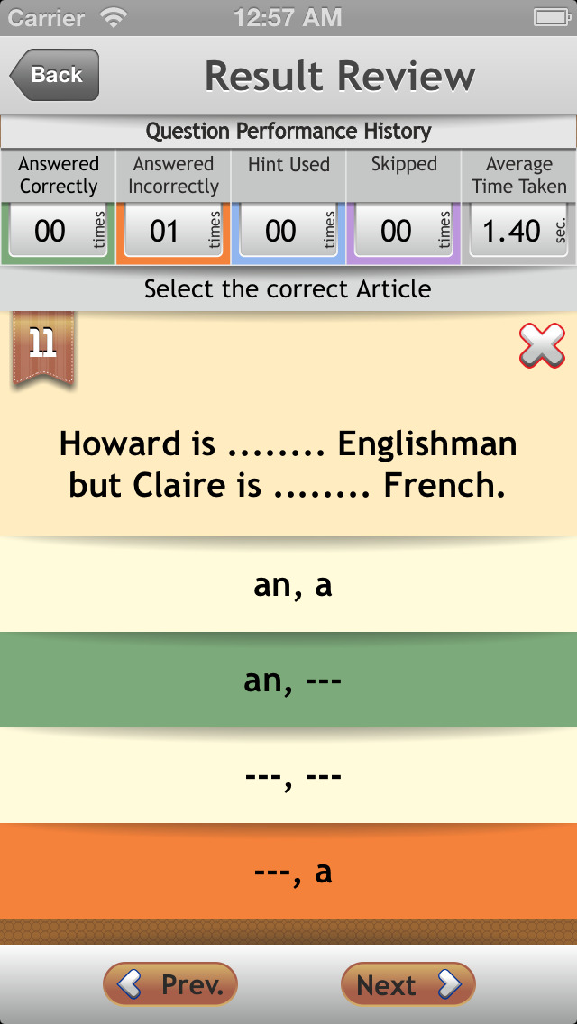 Grammar Expert : English Grammar Advanced screenshot 5