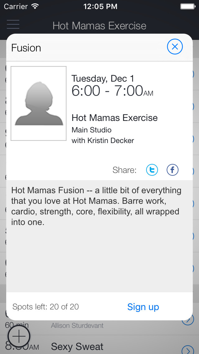 Hot Mamas Exercise screenshot 2
