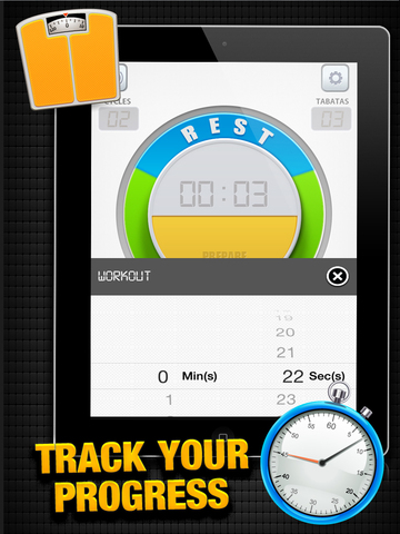 Tabata Timer X² - interval HIIT trainer FREE screenshot 7