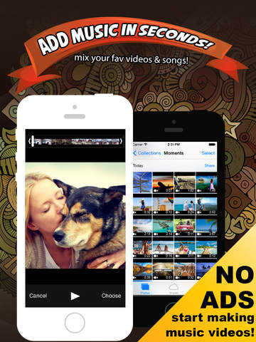Add Music & Video Editor - Enter Video-Shop screenshot 6