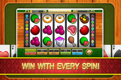 `` Ace Casino Food Slots Machine HD - náhled