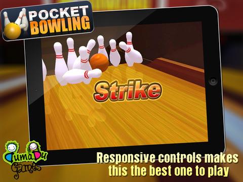 Pocket Bowling 3D HD screenshot 8