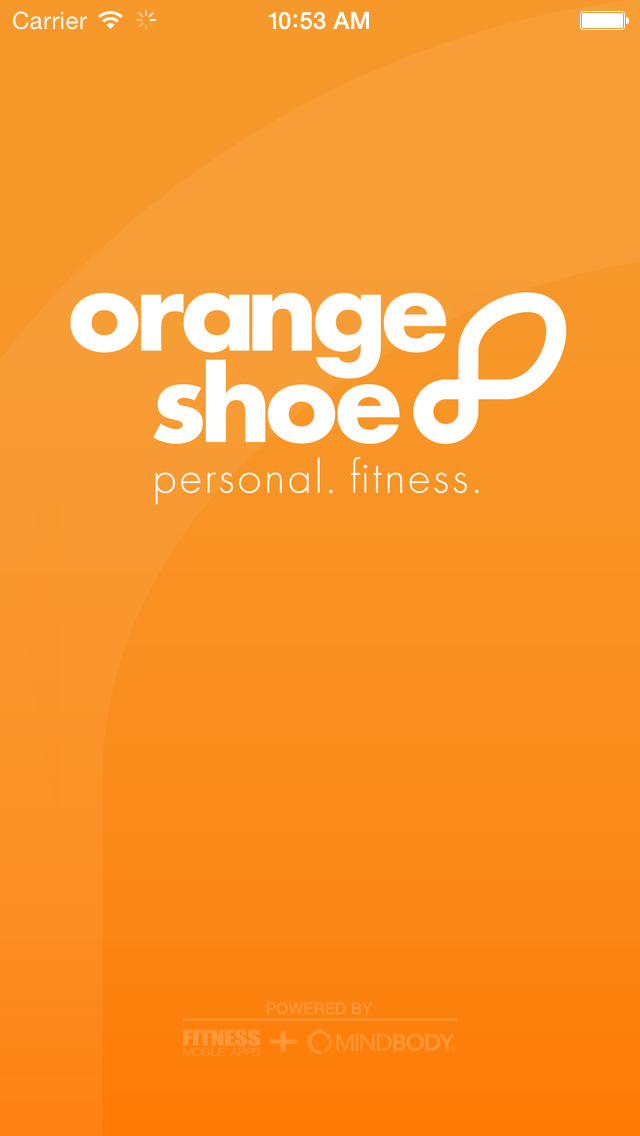 Orange Shoe Personal Fitness screenshot #1