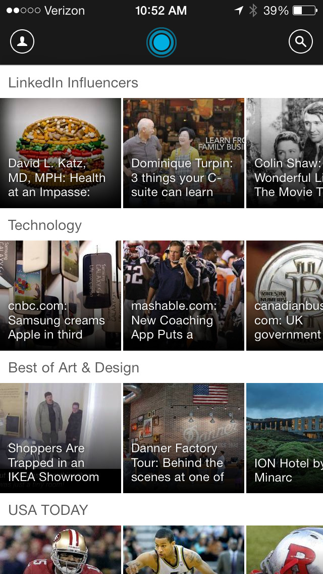LinkedIn Pulse: The news and insights you need to know screenshot #1